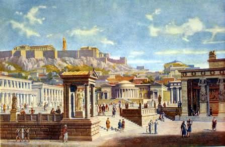 """Η """"αγορά"""" της Αρχαίας Αθήνας"""