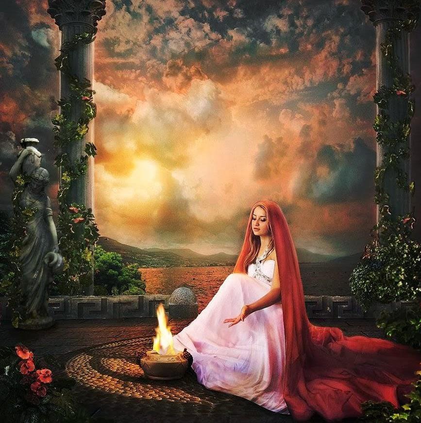 Η Εστία η Θεά της Οικίας