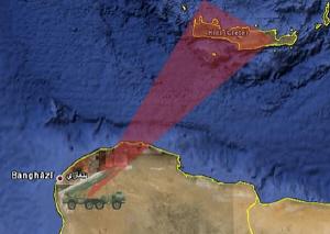 Βαλλιστικός τρόμος λιβυκών SCUD-C επάνω από την Κρήτη