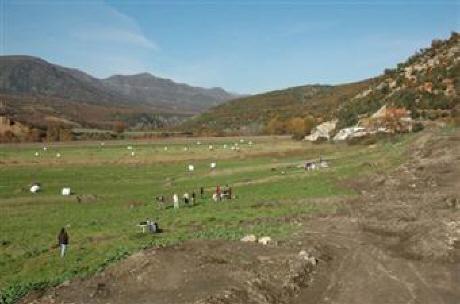Τεράστια έκταση καλύπτουν οι αρχαιότητες που βρέθηκαν στον Αλιάκμονα