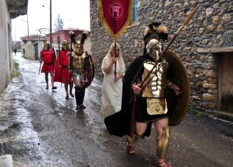 Αναστήθηκαν οι αρχαίοι Σπαρτιάτες στην Πελλάνα!