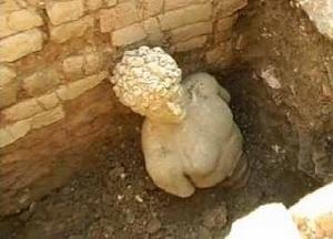 Άγαλμα σε ναό του Απόλλωνα στην Αλβανία