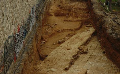 """Ανακαλύφθηκαν τμήματα από τα """"Μακρά Τείχη"""""""
