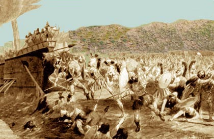 Τα ιερά λείψανα των ισόθεων Μαραθωνομάχων