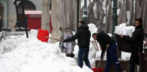snow clean