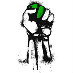 green-revolution-fist