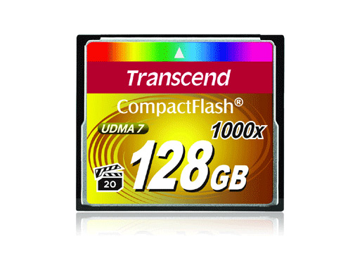 Transcend 1000x CF 128GB