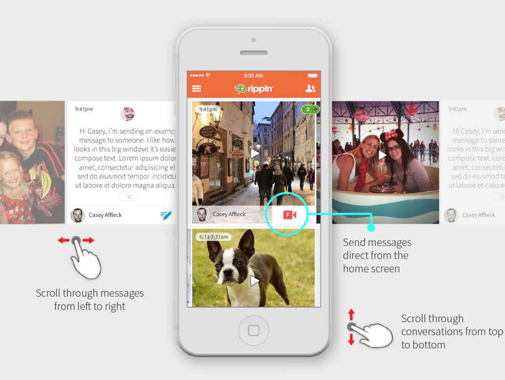 Το πρώτο σεμινάριο για την εφαρμογή Rippln Communicator