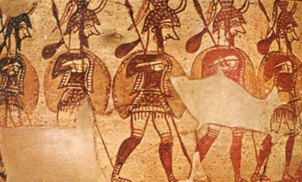 Mycenaean-Greeks-serve-Egyptian-military-of-Ramesses