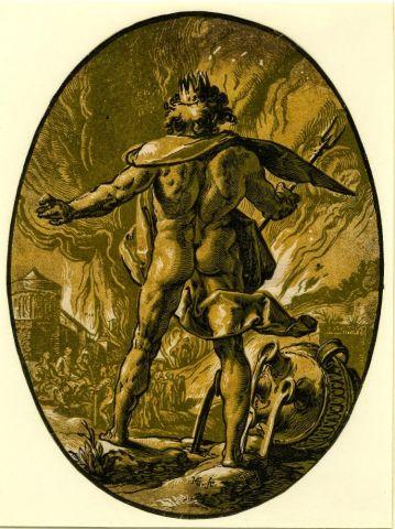Όταν ο Ζευς ο Ποσειδώνας και ο Πλούτωνας διαμοιράστηκαν την κοσμική αρχή