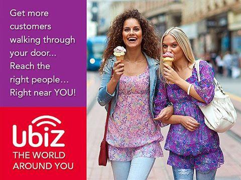 Το UbiZ σας συνδέει με τον κόσμο γύρω σας!