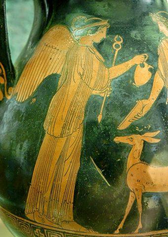 Ίρις -θεότητα του αέρα και των καιρικών φαινομένων
