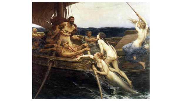 1909 Draper Herbert James Ulysses and the Sirens
