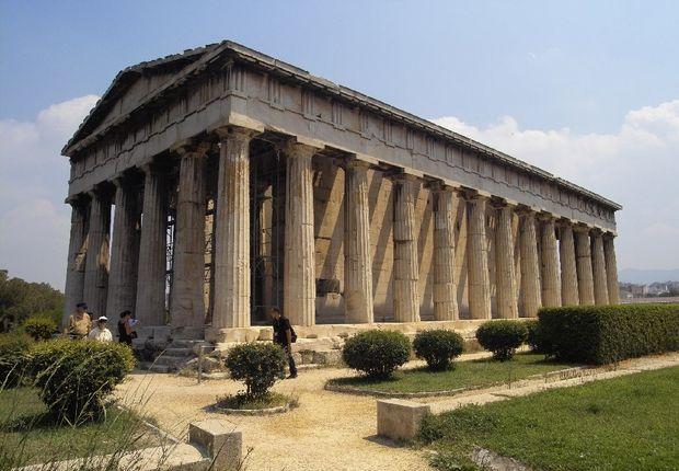 ΝΑΟΣ ΗΦΑΙΣΤΟΥ! Ο πιο καλοδιατηρημένος Αρχαίος Ναός της Ελλάδας