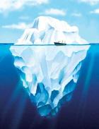 Με το λιώσιμο των παγόβουνων η στάθμη τις θάλασσας ΔΕΝ θα ανέβει!