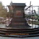 Πλατεία-μνημείο του Βασιλέα των Μακεδόνων Φιλίππου στο Μοναστήρι.