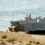 Σύγχρονο πολεμικό υλικό ξεφορτώνει ο Αττίλας στην Αμμόχωστο
