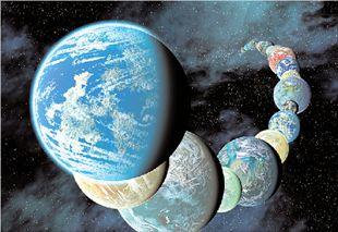 Το Σύμπαν είναι γεμάτο από πλανήτες σαν τη Γη.