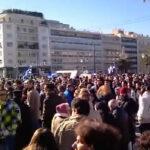 Διαμαρτυρία κατά της Κάρτας Πολίτη 06.02.2011