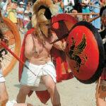 Αναβίωσαν τη μάχη του Μαραθώνα