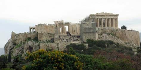 Η προσπάθεια αναστήλωσης της Ακρόπολης μέσα από φωτογραφίες