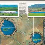 Λίμνες από μετεωρίτες τα Ζερέλια Αλμυρού στο Βόλο