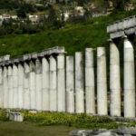 Εντυπωσιακή αναστήλωση στο ναό του Διός στην αρχαία Ολυμπία
