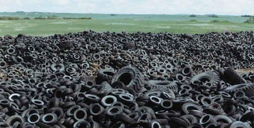 Μεγάλο πρόγραμμα ανακύκλωσης ελαστικών από την ΕΕ