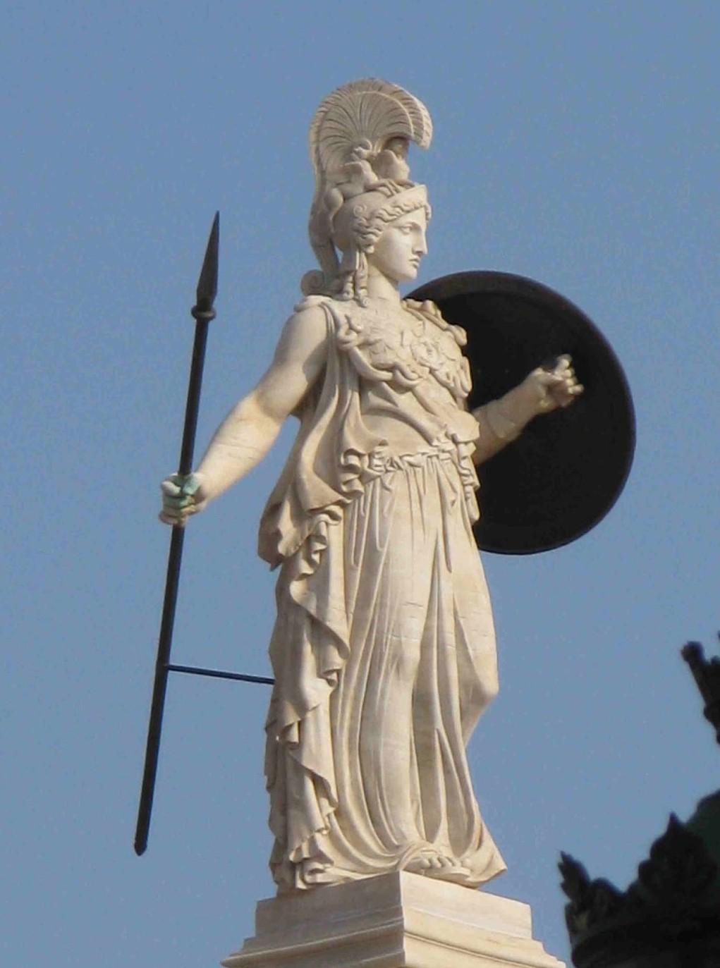 45 προσωνυμίες της θεάς Αθηνάς