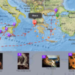 Το ταξίδι του γυρισμού του Οδυσσέα σε έναν διαδραστικό χάρτη!