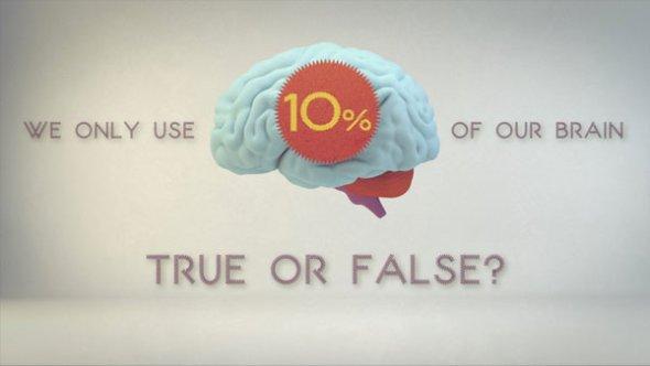 Χρησιμοποιούμε μόνο το 10% του εγκεφάλου μας ή πρόκειται για μύθο; [Video]