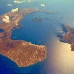 Toν 16ο αιώνα πχ, εξερράγη το ηφαίστειο της Σαντορίνης