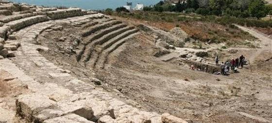 Ήρθε στο φως αρχαίο θέατρο στην Eλληνική πόλη Μάγαρσο στην Τουρκία [εικόνες]