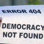 H σύγχρονη ολιγαρχία με τη μάσκα της αντιπροσώπευσης παριστάνει τη Δημοκρατία