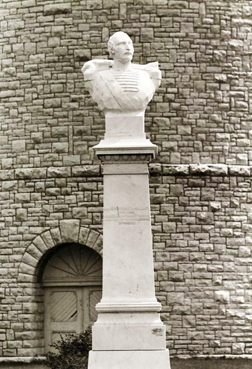 Προτομή του Δημητρίου Υψηλάντη στη πόλη Υψιλάντι Μίσιγκαν
