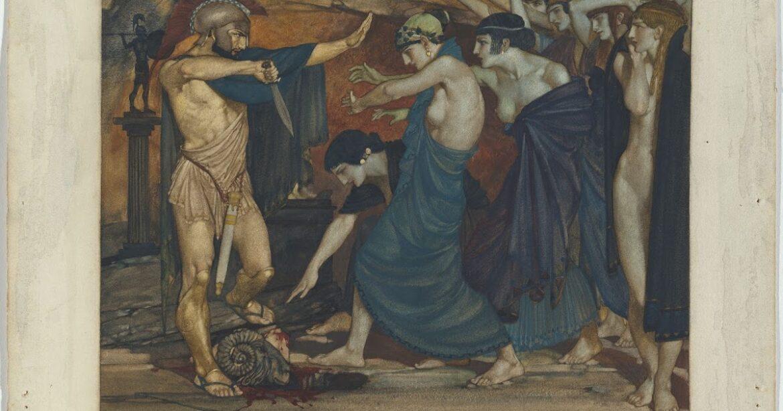 Η μυητική κάθοδος του Οδυσσέα στον Άδη