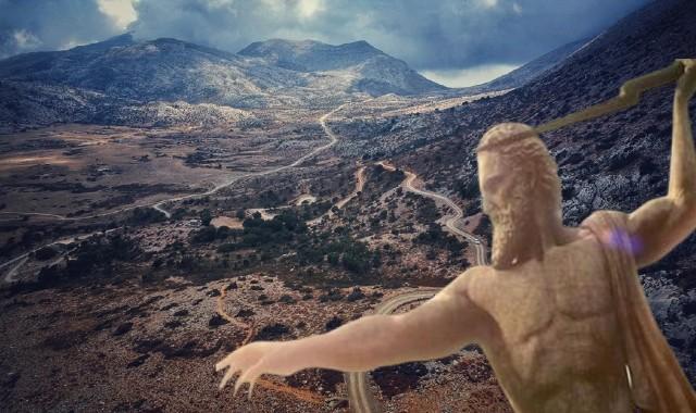 Η σπηλιά στον επιβλητικό Ψηλορείτη όπου γεννήθηκε ο Δίας